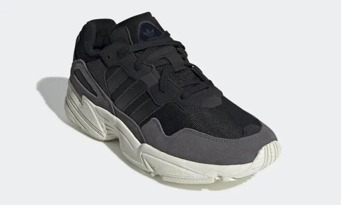 """6/1発売!adidas Originals Yung-96 """"Raw White/Core Black"""" (アディダス オリジナルス ヤング-96 """"ロウホワイト/コアブラック"""") [EE7244,7245]"""