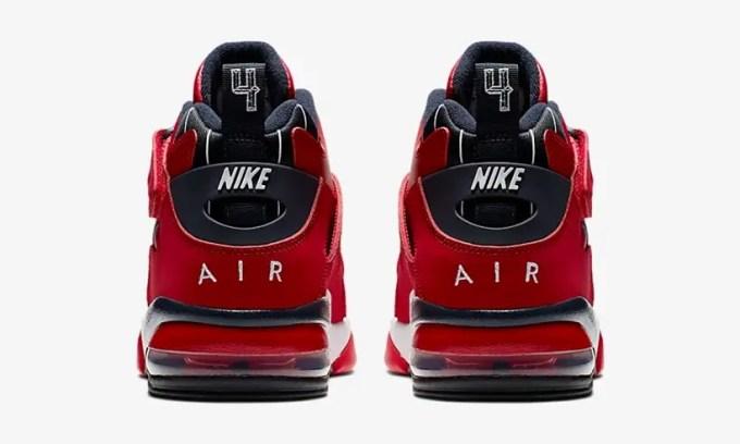 """ナイキ エア フォース マックス CB """"ジムレッド/ホワイト/ブラック"""" (NIKE AIR FORCE MAX CB """"Gym Red/White/Black"""")[CJ0144-600]"""