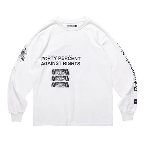 漫画「ろくでなしBLUES」× FORTY PERCENT AGAINST RIGHTS コラボTEEが6/22発売 (フォーティーパーセントアゲインストライツ)