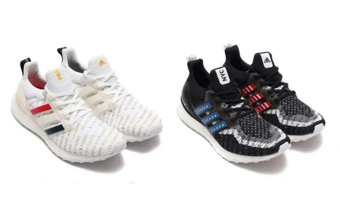 """adidas ULTRA BOOST CTY """"White/Core Black"""" (アディダス ウルトラ ブースト CTY """"ホワイト/コアブラック"""") [FV2586,2587]"""