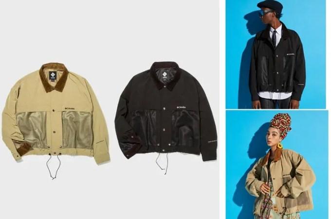 COLUMBIA BLACK LABEL × monkey time Glover Stream Jacket TM/ブルゾンが9月中旬発売 (コロンビア ブラック レーベル モンキータイム)