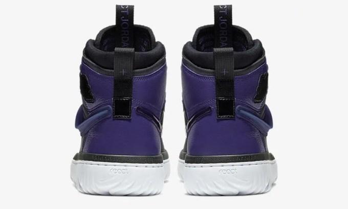 """ナイキ エア ジョーダン 1 ハイ リアクト """"ブラック/パープル"""" (NIKE AIR JORDAN 1 HIGH REACT """"Black/Purple"""") [AR5321-005]"""
