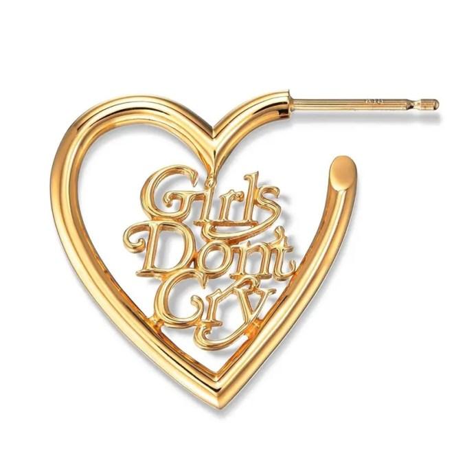 ゴールドカラーのGirls Don't Cry × CAREERING コラボレーションモデルが発売 (ガールズ ドント クライ キャリアリング)