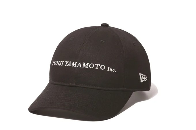 New Era 100周年 × Yohji Yamamoto コラボコレクションが2/1発売 (ニューエラ ヨウジヤマモト)