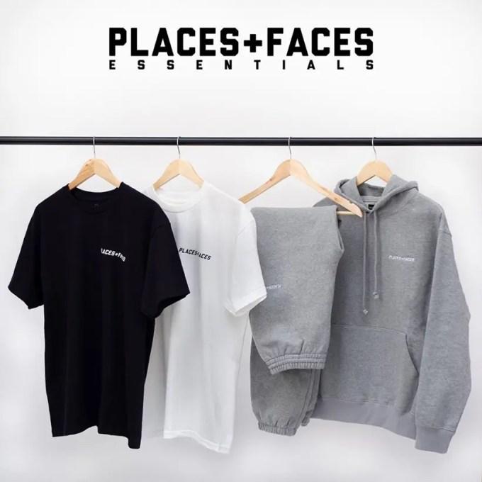 PLACES+FACES ESSENTIALSが日本時間 4/11 AM 3:00発売 (プレイシーズフェイシーズ エッセンシャルズ)