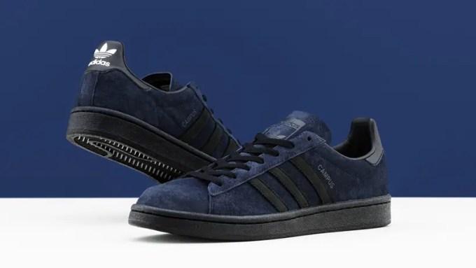 """7/4発売!KICKS LAB × adidas Originals """"CAMPUS KICKS LAB."""" """"Navy/Black"""" (キックスラボ アディダス オリジナルス キャンパス """"ネイビー/ブラック"""") [FY3236]"""