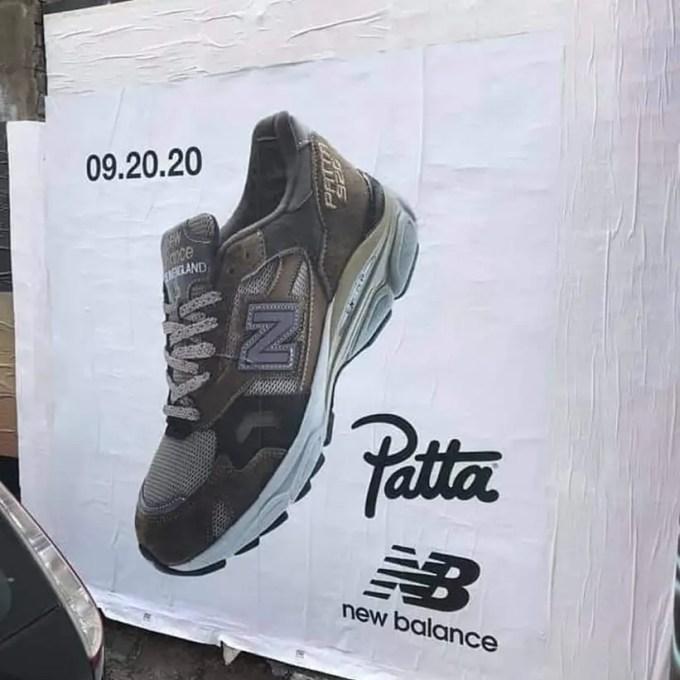 9/20発売!PATTA x New Balance 920 (パタ ニューバランス)