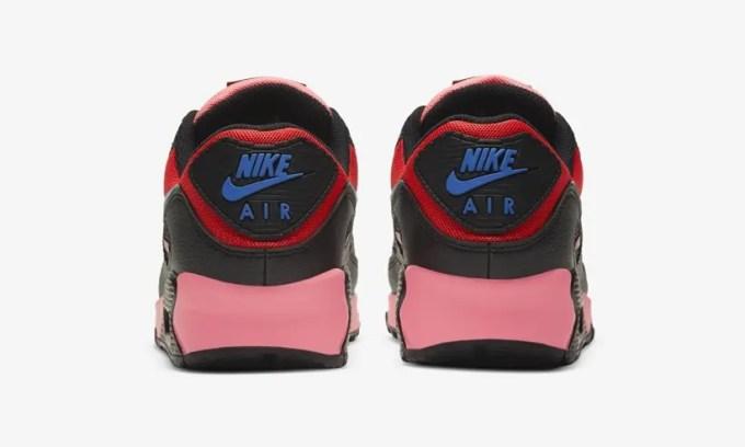 """ナイキ エア マックス 90 """"ブラック/ミント/レッド/ピンク"""" (NIKE AIR MAX 90 """"Black/Mint/Red/Pink"""") [CV8819-500]"""