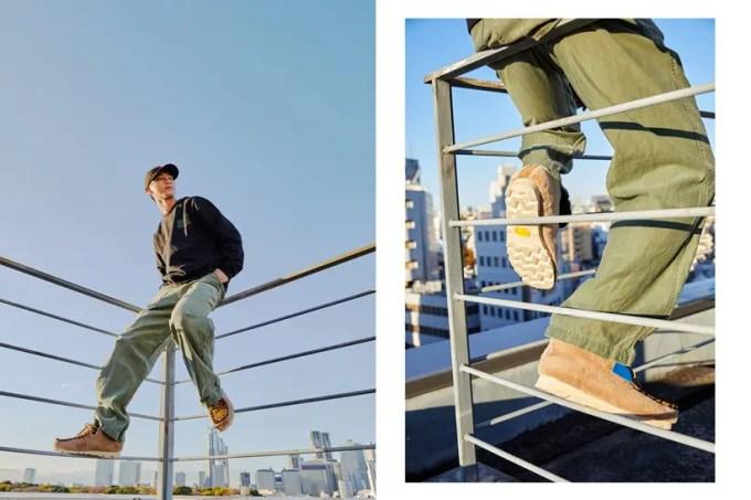 """【12/19 発売】世界300足限定!ハラコ調の素材を纏った Clarks ORIGINALS × atmos """"Wallabee Boots Gen"""" 2型 (クラークス アトモス ワラビー ブーツ)"""