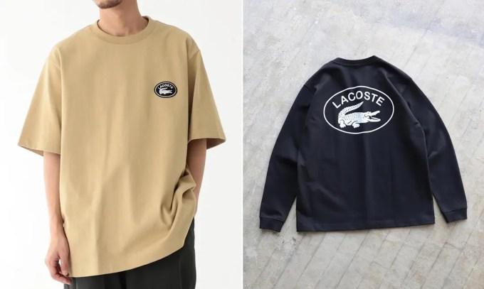 復刻されたブラックカラーバッジ!LACOSTE × BEAMS 別注 Logo T-shirt/Big Croco Long Sleeve T-shirtが4月上旬発売 (ラコステ ビームス)