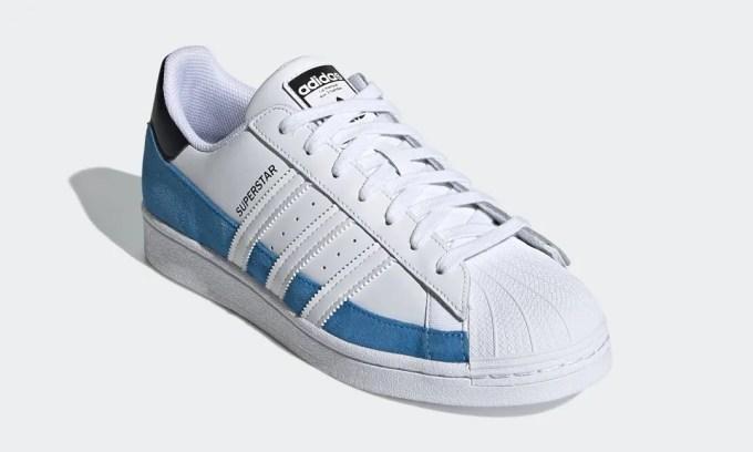 """5/1 発売!adidas Originals SUPERSTAR """"Bright Blue/White"""" (アディダス オリジナルス スーパースター """"ブライトブルー/ホワイト"""") [FX5571]"""