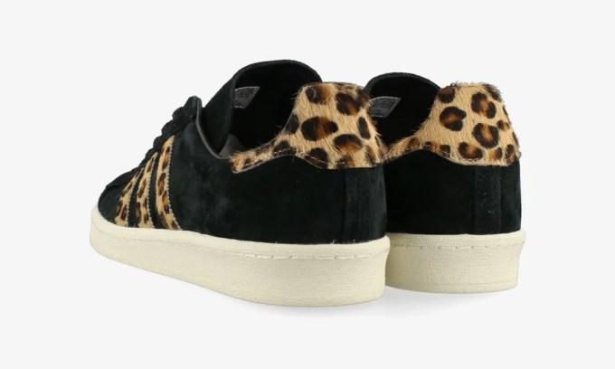 """【5/1 発売】日本限定!adidas Originals CAMPUS 80s """"Leopard/Core Black/Pale Nude"""" (アディダス オリジナルス キャンパス 80s """"レオパード/ブラック/ペールヌード"""") [GY0407]"""