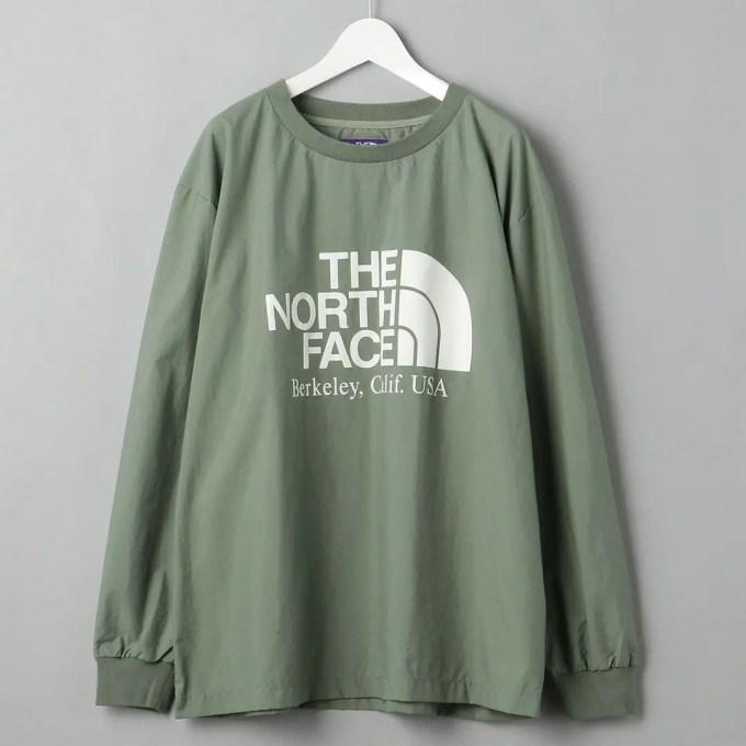 THE NORTH FACE PURPLE LABEL × BEAUTY&YOUTH 別注 L/S CREW NECK/カットソーが8月下旬発売 (ザ・ノース・フェイス パープルレーベル ビューティアンドユース)