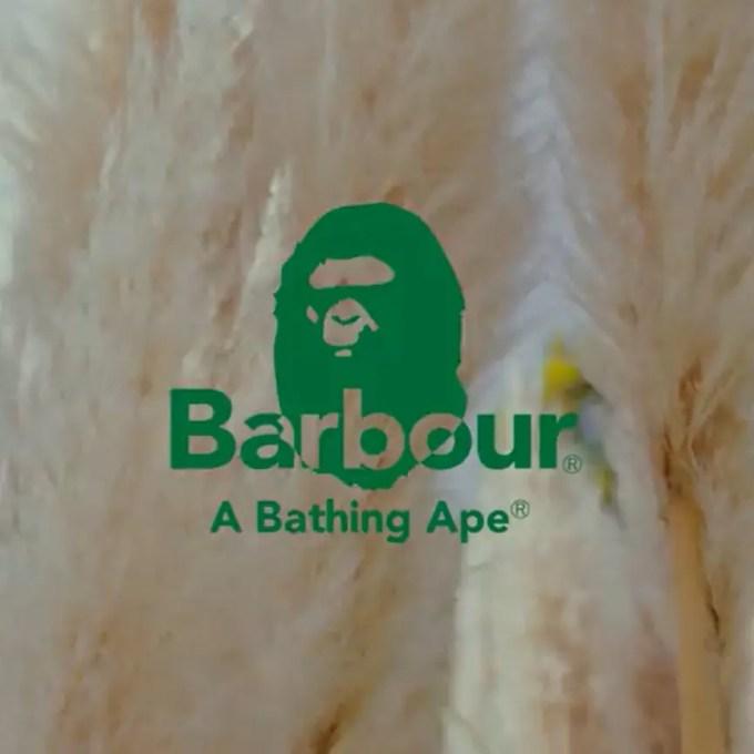 発売予定!A BATHING APE × Barbour (ア ベイシング エイプ バブアー)