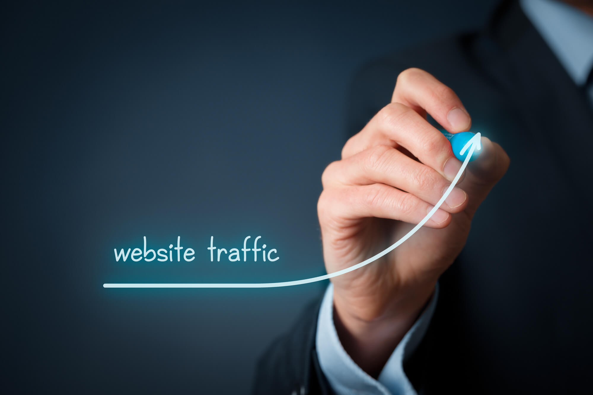 increase website traffic fast