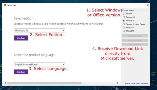 Download Windows and Office