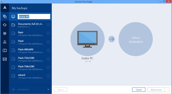 Acronis True Image latest version