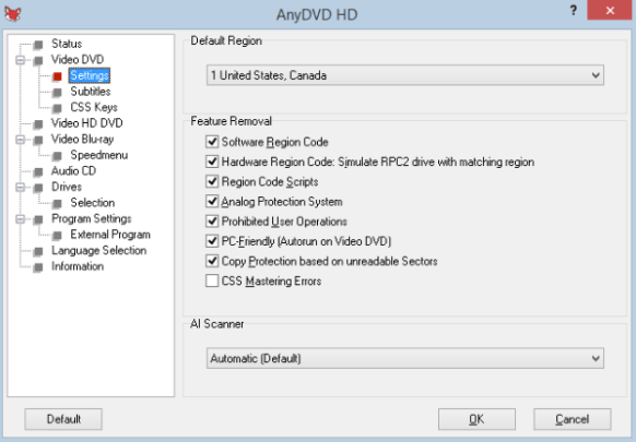 AnyDVD HD windows