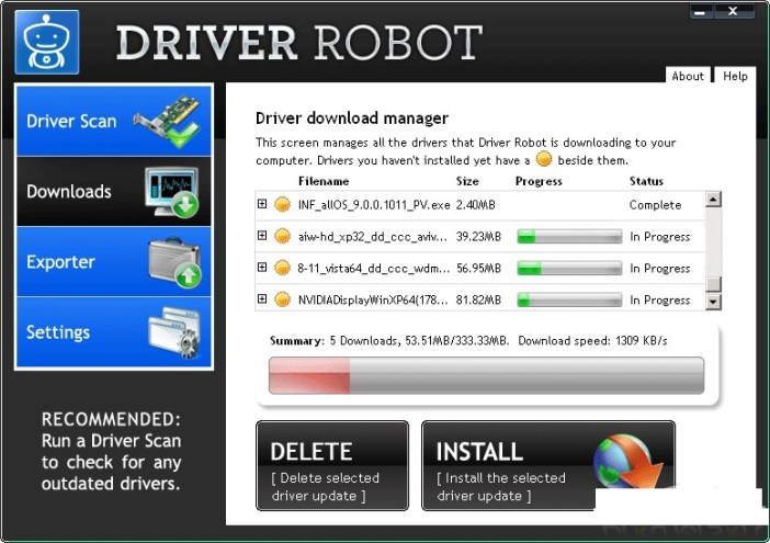 Driver Robot latest version