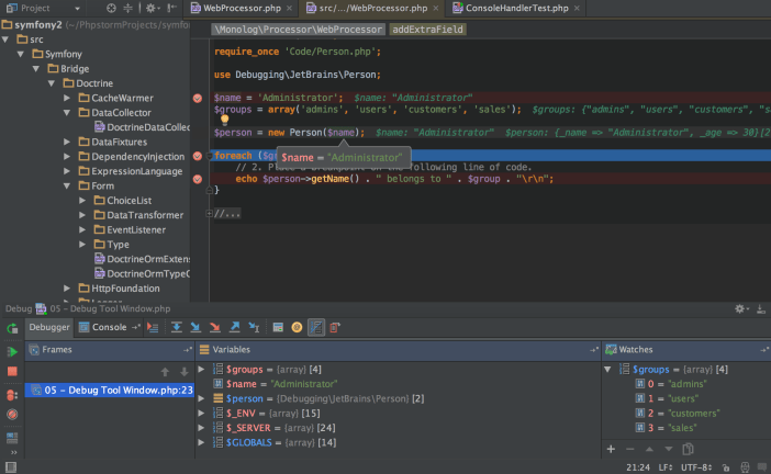 JetBrains PhpStorm windows