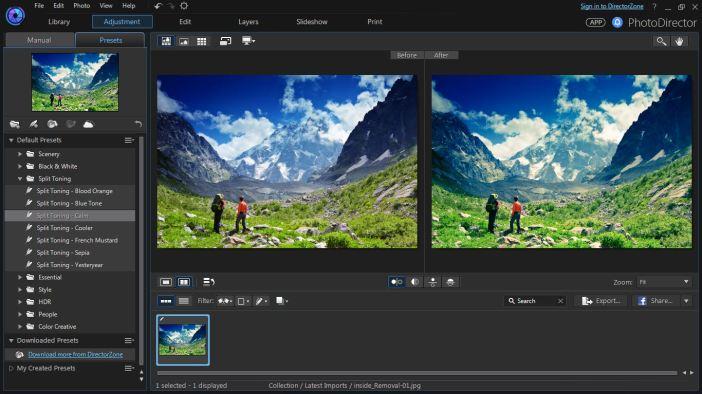CyberLink PhotoDirector Ultra latest version