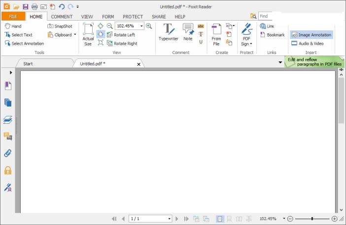 Foxit Reader windows