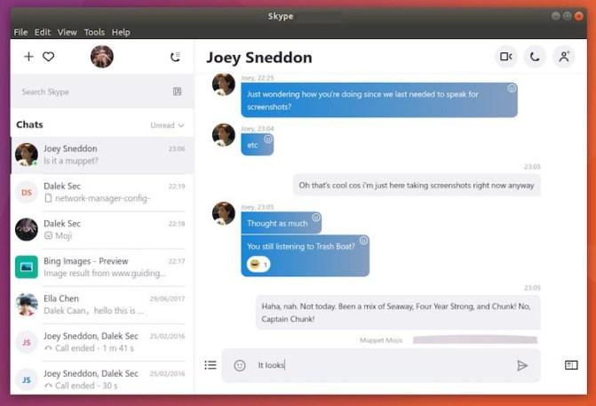 Skype latest version