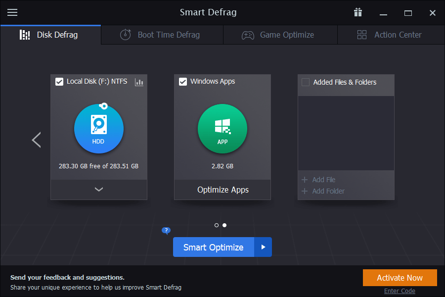 Smart Defrag latest version