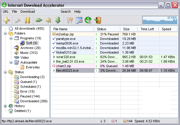 Internet Download Accelerator windows