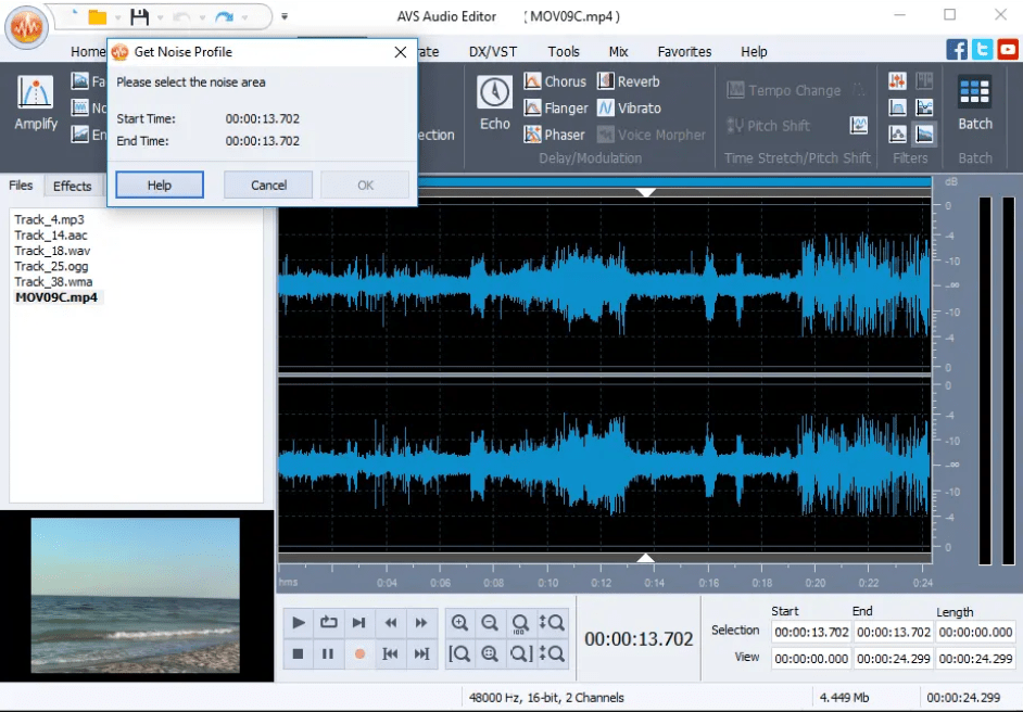AVS Audio Editor latest version