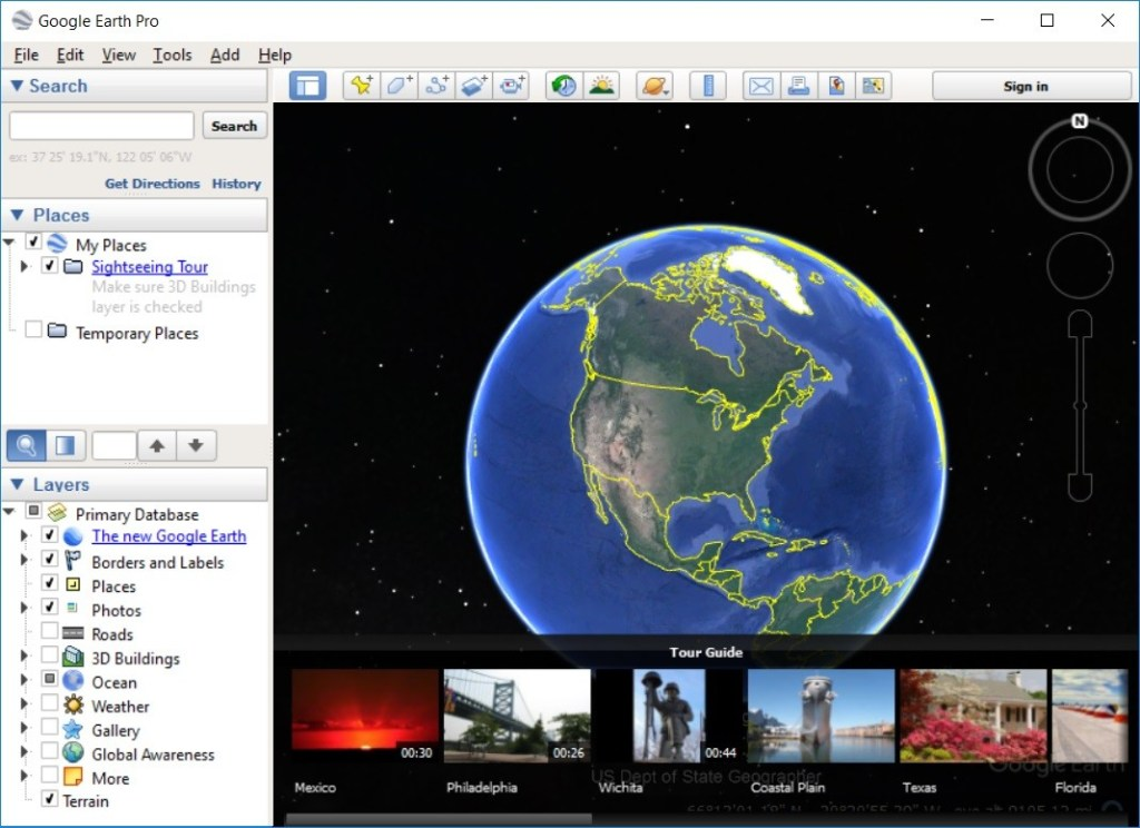 Google Earth Pro windows