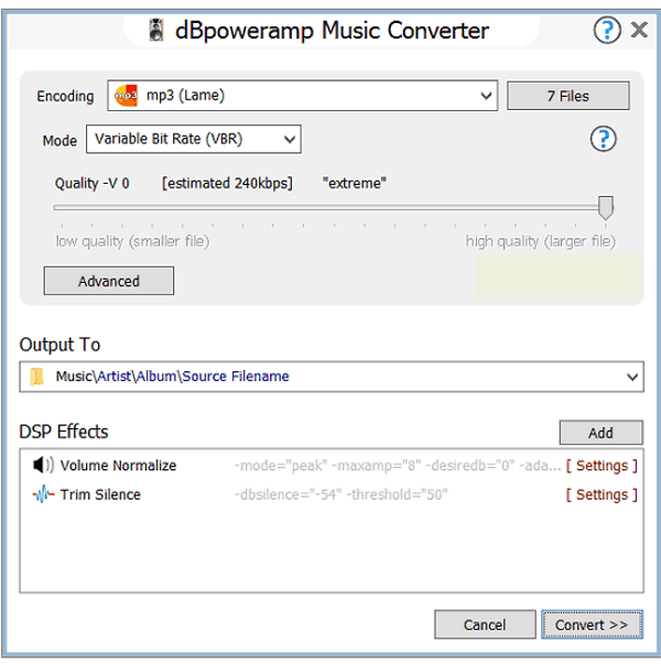 dBpowerAMP Music Converter latest version