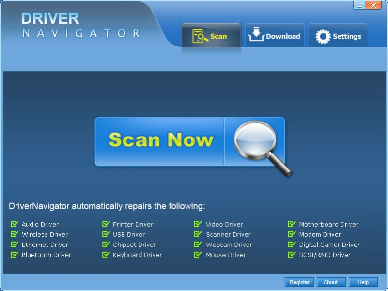 Driver Navigator windows