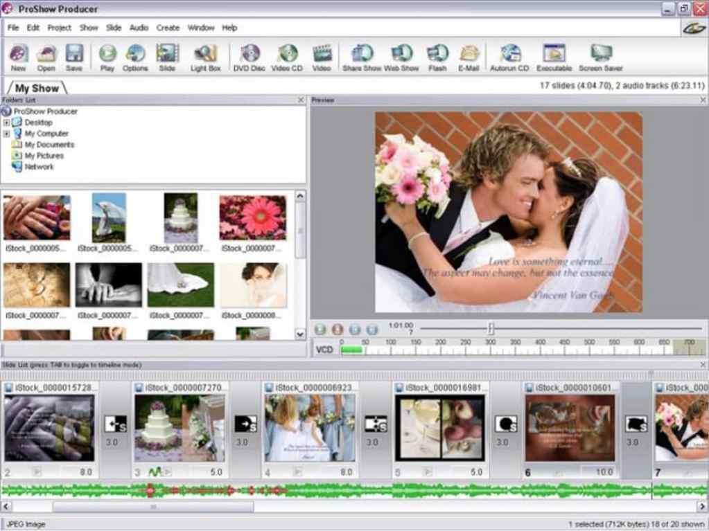 Photodex Proshow Producer windows