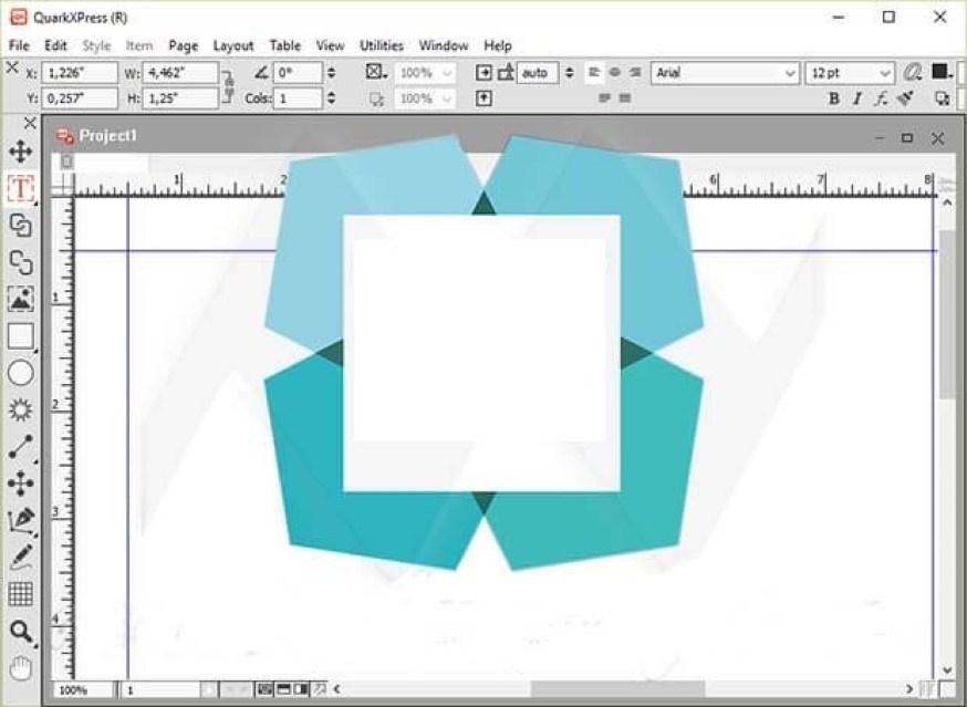 QuarkXPress Pro windows