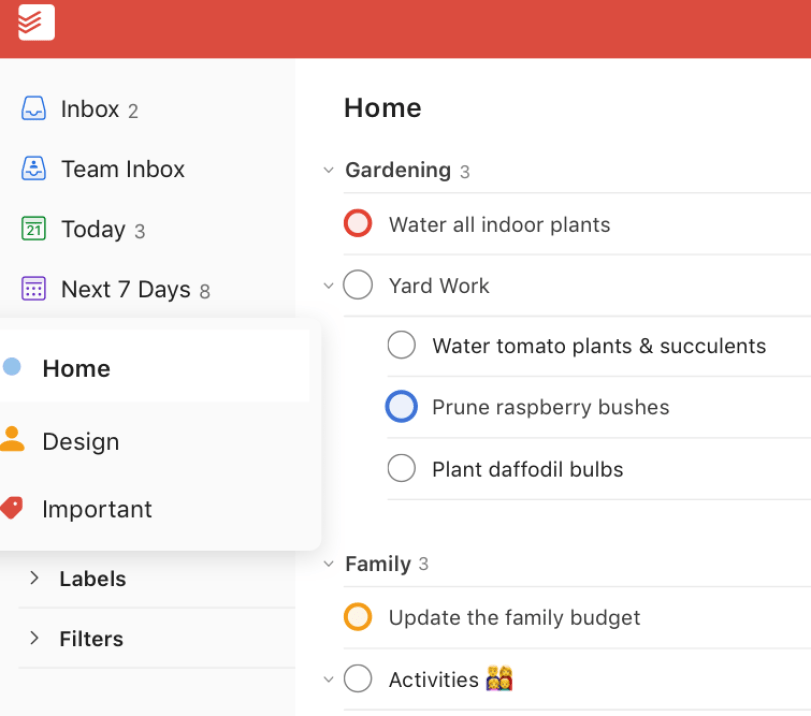 Todoist latest version