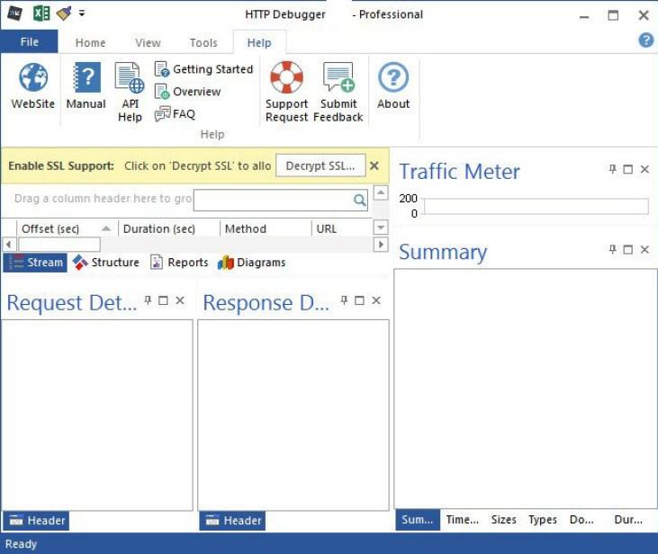HTTP Debugger Pro windows