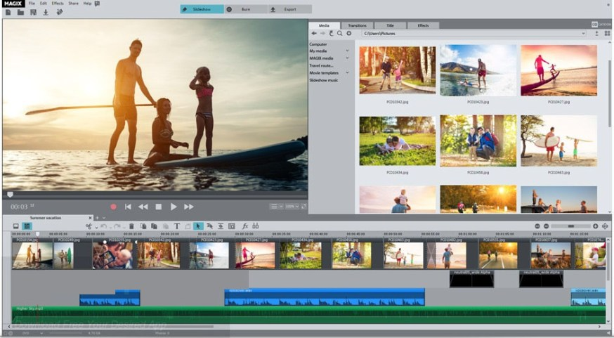 MAGIX Photostory Deluxe latest version