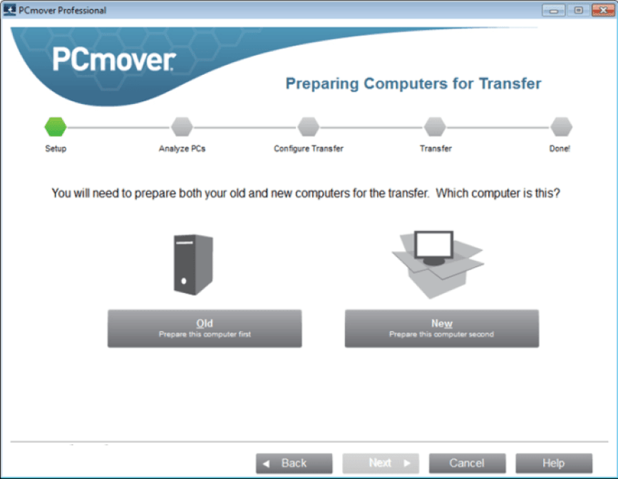 PCmover Professional latest version