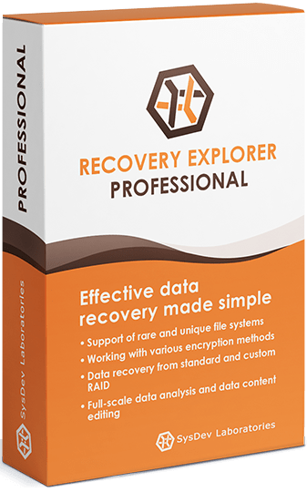 Recovery Explorer Professional