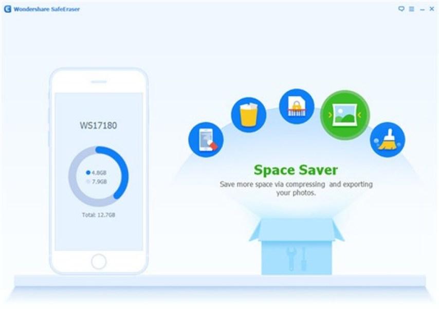 Wondershare SafeEraser latest version