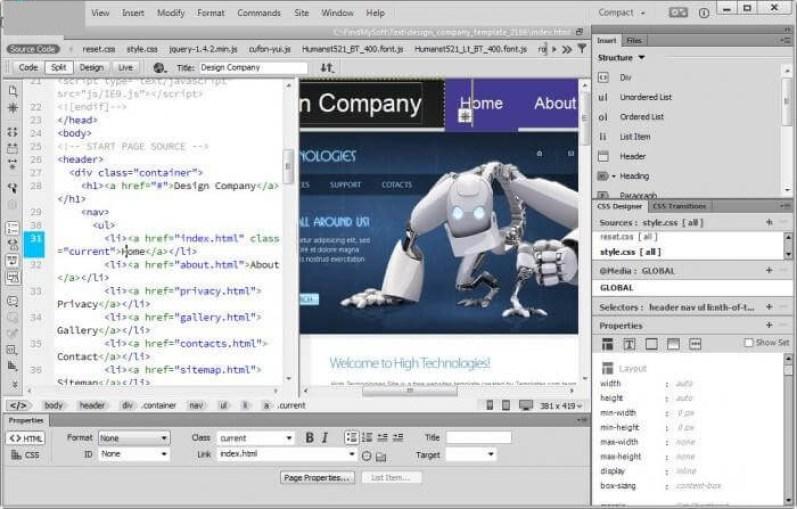 Adobe Dreamweaver latest version