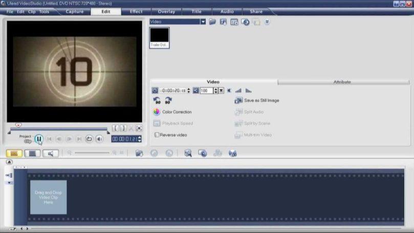 Ulead Video Studio latest version