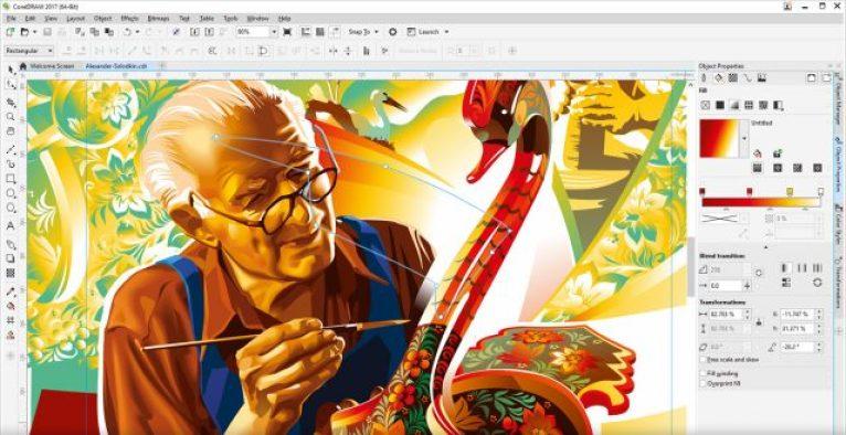 Corel Draw Graphics Suite latest version