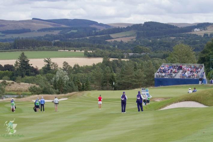 European Championships 2018. Gleneagles golf course