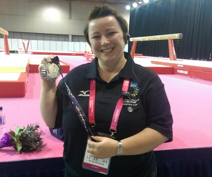 Volunteering at the World Gymnastic Championships in Glasgow 2015