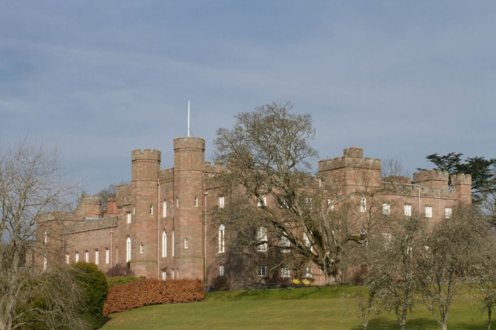 Scone Palace in Perthshire, Scotland