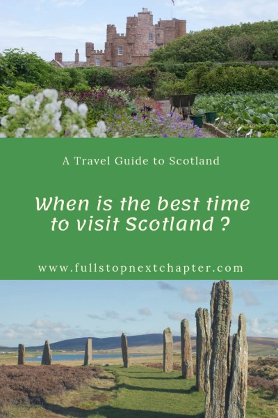 Pin for later - When is the best time to visit Scotland