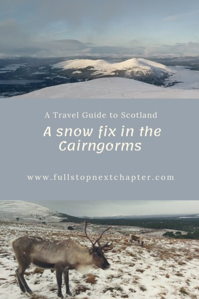 Pin for later - A snow fix in the Cainrgorms