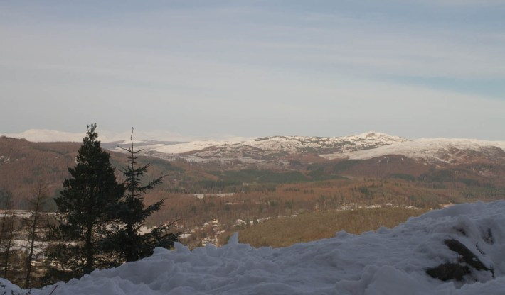 Perthshire, Birnham Hill, Scottish Travel Blog